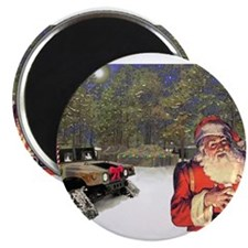 """Military Silent Night 2.25"""" Magnet (10 pack)"""