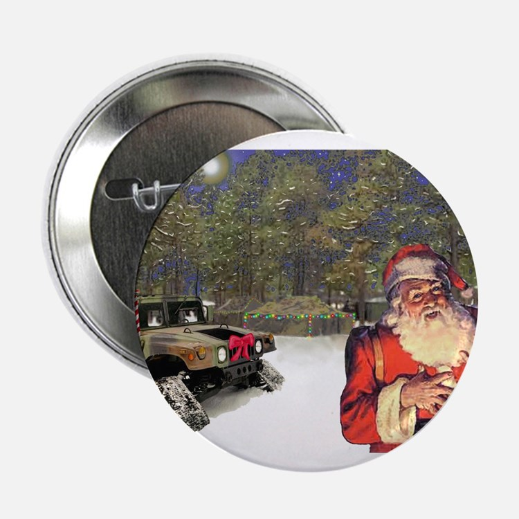 """Military Silent Night 2.25"""" Button (10 pack)"""