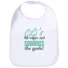 GiGi's the Name, and Spoiling's the Game! Bib