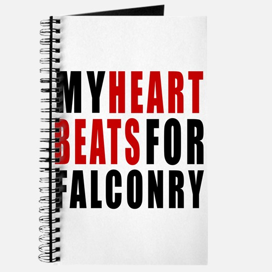 My Hear Beats For Falconry Journal