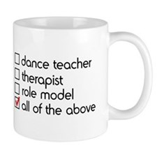 Dance Teacher Small Mug
