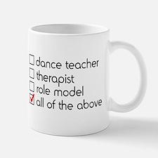 Dance Teacher Small Mugs