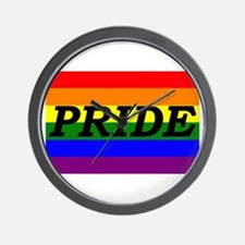 Rainbow Pride Wall Clock