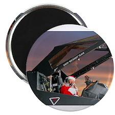 """Stealth Pilot Santa 2.25"""" Magnet (10 pack)"""