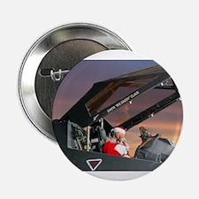 "Stealth Pilot Santa 2.25"" Button (10 pack)"