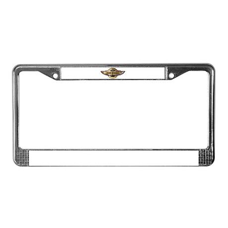 Fat Fockers Wings License Plate Frame