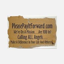 PleasePayItForward.com Rectangle Magnet