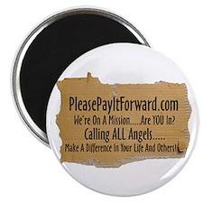 "PleasePayItForward.com 2.25"" Magnet (10 pack)"