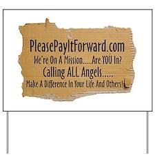 PleasePayItForward.com Yard Sign