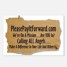 PleasePayItForward.com Postcards (Package of 8)