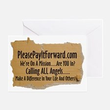 PleasePayItForward.com Greeting Card