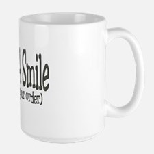 Service With A Smile (because Mug