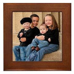Garcia Family 2007 Framed Tile