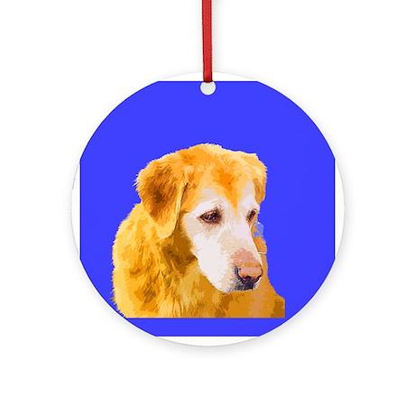 Pop Golden Ornament (Round)