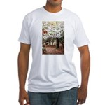 Enchanted Forest Fitted T-Shirt