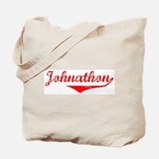 Johnathon Vintage (Red) Tote Bag