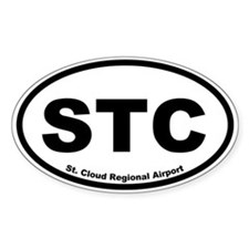 St. Cloud Regional Airport Oval Decal