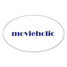 Movieholic Oval Decal