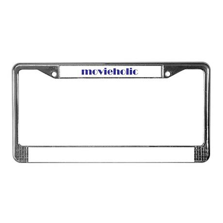 Movieholic License Plate Frame