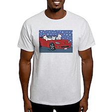 Westie Santa Cruizers T-Shirt