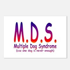 Multiple Dog Syndrome Postcards (Package of 8)