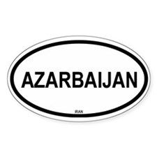 Azarbaijan Oval Decal