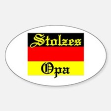 Opa Oval Decal