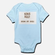 Keikis Rule Infant Creeper