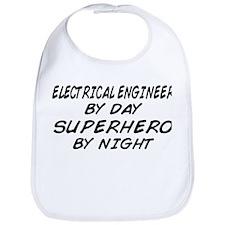 EE by Day Superhero by Night Bib