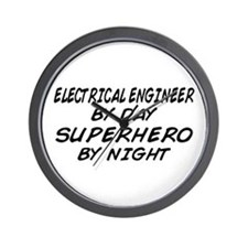 EE by Day Superhero by Night Wall Clock