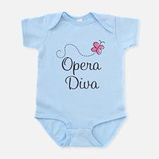 Cute Opera Diva Infant Bodysuit