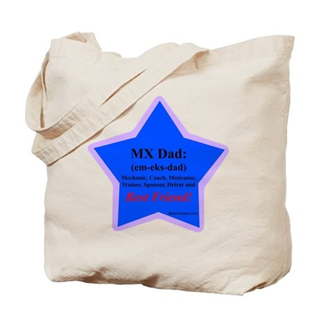 """""""Superstar MX Dad"""" Tote Bag"""