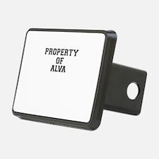 Property of ALVA Hitch Cover