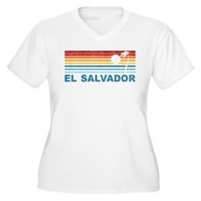 Retro El Salvador Palm Tree T-Shirt