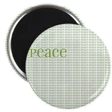 "Peace on Peace 2.25"" Magnet (100 pack)"