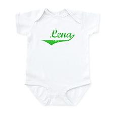 Lena Vintage (Green) Infant Bodysuit