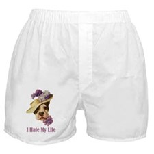 I HATE MY LIFE Boxer Shorts