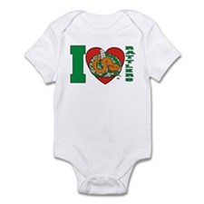 I Love Rattlers Infant Bodysuit