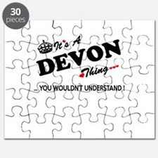 DEVON thing, you wouldn't understand Puzzle
