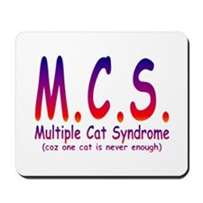 Multiple Cat Syndrome Mousepad