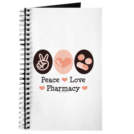 Peace Love Pharmacy Pharmacist Journal