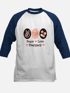 Peace Love Pharmacy Pharmacist Tee