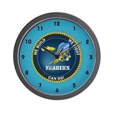 seabee clocks Wall Clock