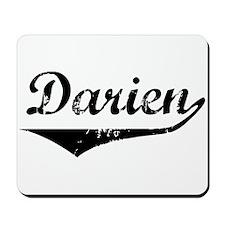 Darien Vintage (Black) Mousepad