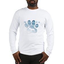 Bull Terrier Granddog Long Sleeve T-Shirt