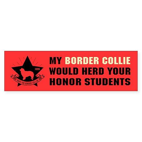 Border Collie - Herd Honor Students Sticker