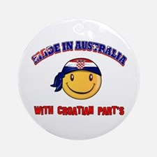 Made in Australia with Croatian part's Ornament (R