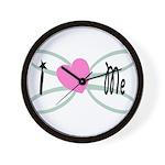 I Love me Wall Clock