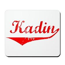 Kadin Vintage (Red) Mousepad