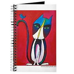 Marcy Hall's Tuxedo Cat & Bird Journal